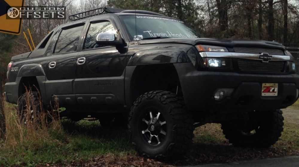 1 2002 Avalanche 1500 Chevrolet Suspension Lift 6 American Outlaw Deputy Machined Accents Aggressive 1 Outside Fender