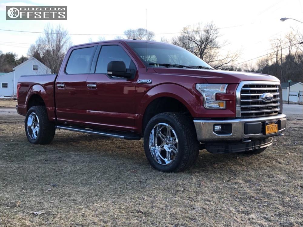 Ford Rough Country Leveling Kit Hostile Havoc Chrome
