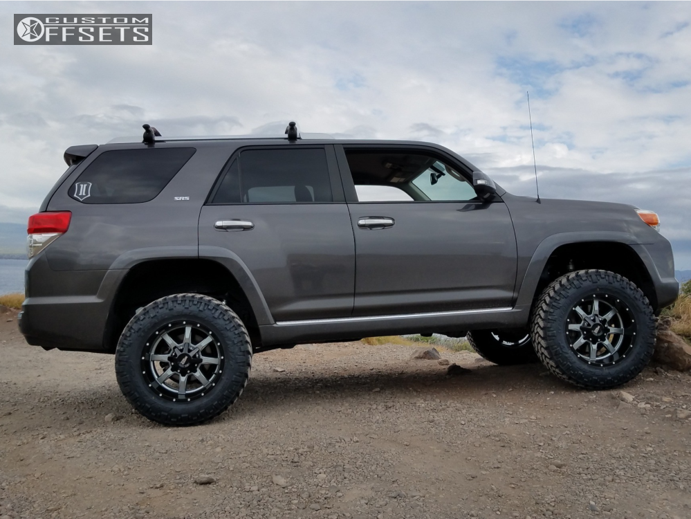 Toyota 4Runner Lifted >> 2012 Toyota 4runner Moto Metal Mo970 Icon Suspension Lift