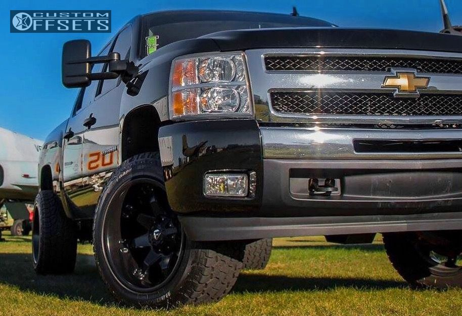 1 2009 Silverado 1500 Chevrolet Moderate 2f 4r Hostile Switch Blade Black Super Aggressive 3