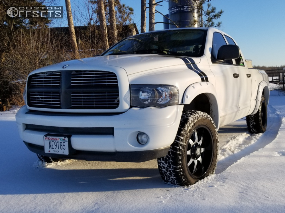 1 2004 Ram 1500 Dodge Stock Leveling Kit Panther Offroad 578 Machined Accents