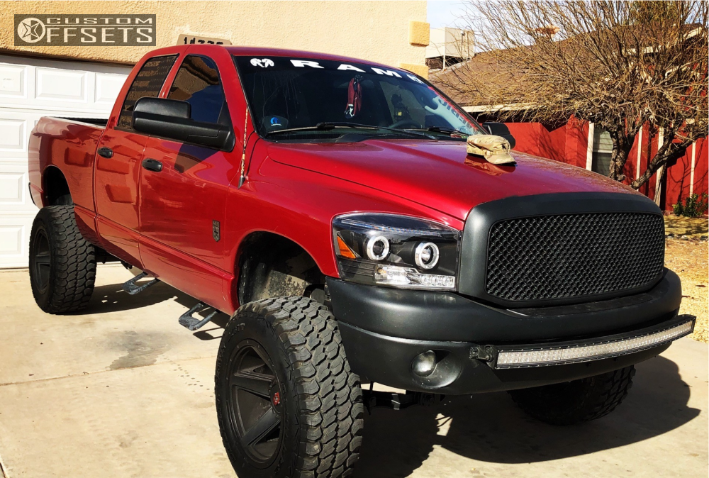 Ram Dodge Rough Country Suspension Lift In Vision Empire Black