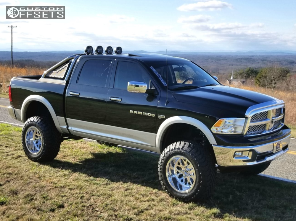 Custom Ram 1500 >> 2011 Ram 1500 Fuel Forged Ff19 Rough Country Suspension ...