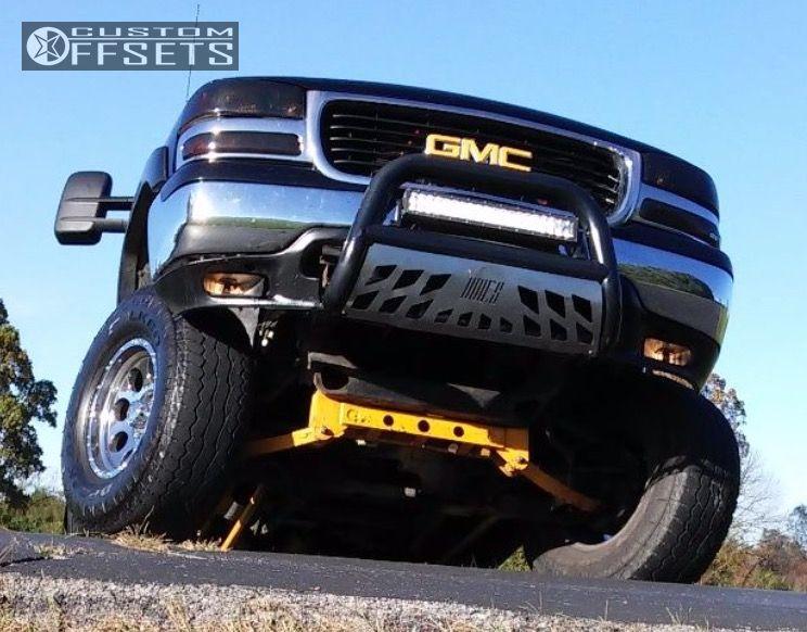 2 2002 Sierra 1500 Gmc Suspension Lift 6 Body 3 Pro Comp 1 Chrome Super Aggressive 3 5