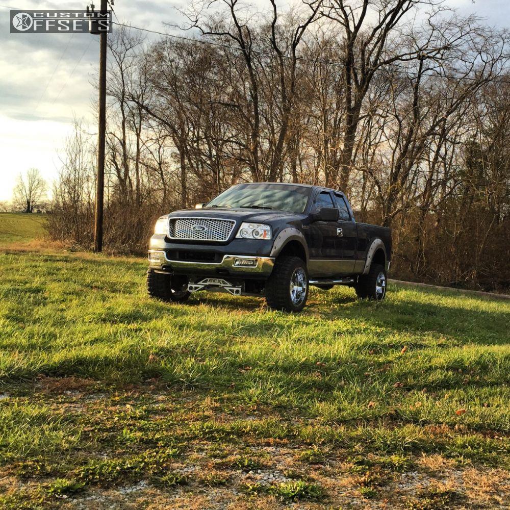 1 2004 F 150 Ford Suspension Lift 4 Moto Metal Mo962 Chrome Super Aggressive 3 5