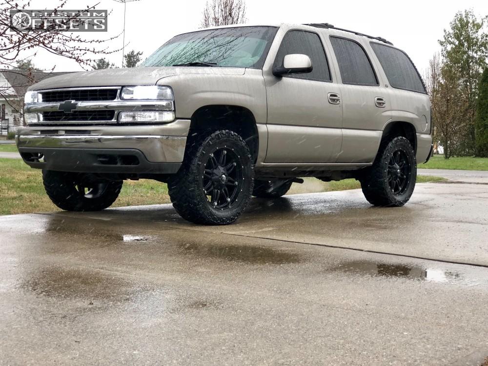2000 Chevrolet Tahoe Fuel Hostage Summit Performance Leveling Kit Custom Offsets