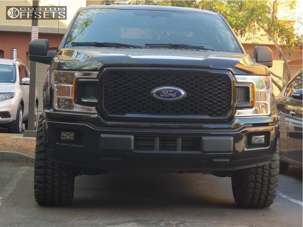 2018 Ford F 150 Toxic Shok Motofab Leveling Kit Offsets Garage