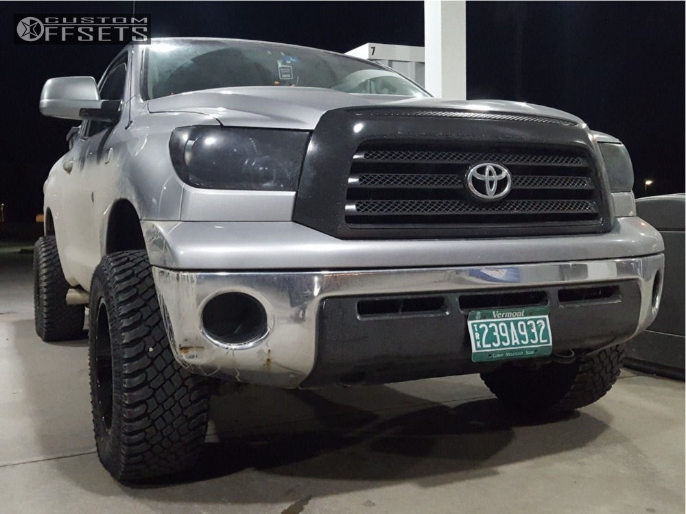 2007 Toyota Tundra Moto Metal Mo970 Rough Country Leveling