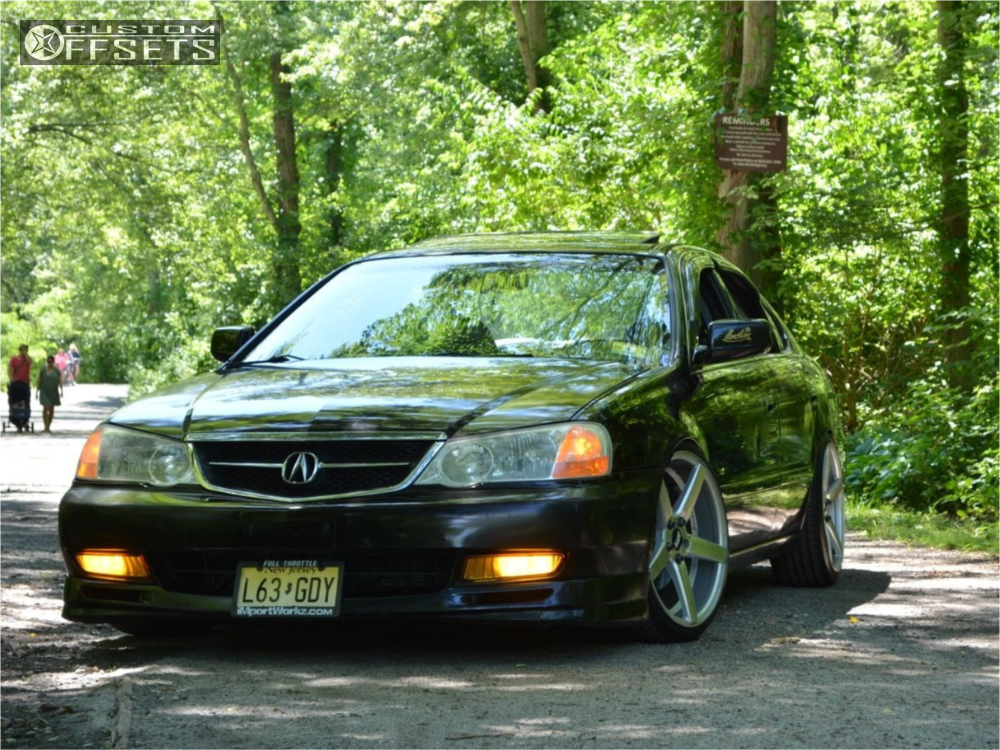 2002 Acura Tl Str 607 D2 Racing Coilovers Custom Offsets