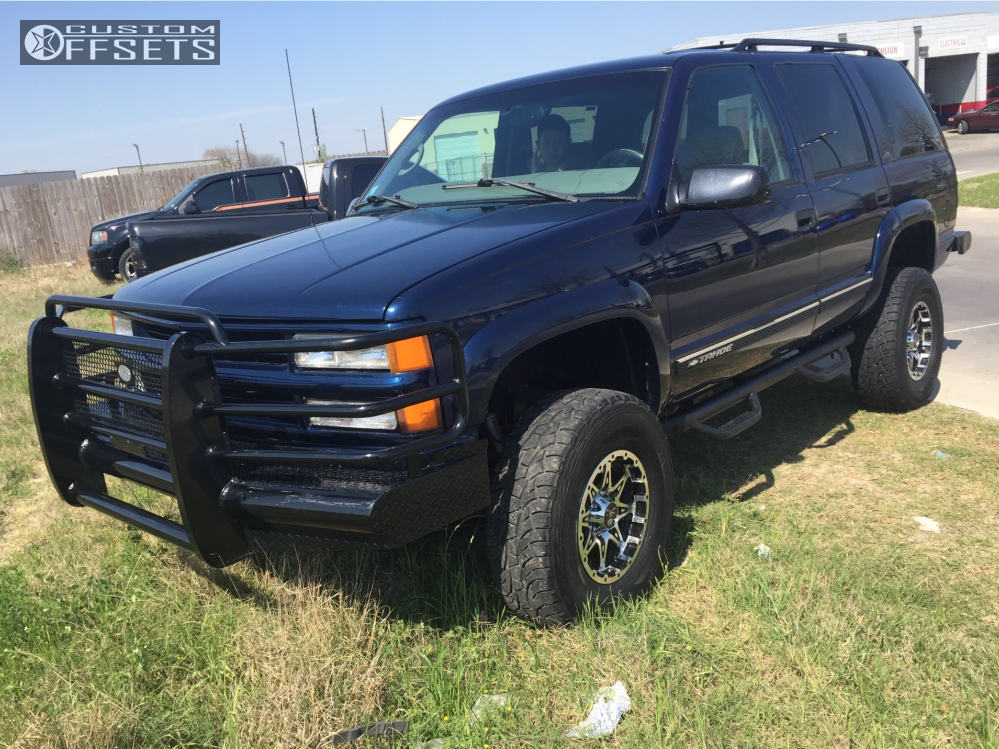 2000 Chevrolet Tahoe American Outlaw Buckshot Rough Country