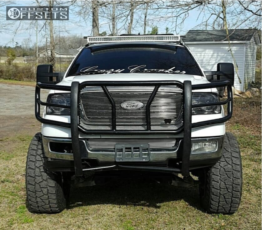 2005 Ford F 150 Fuel Maverick Custom Suspension Lift 9in
