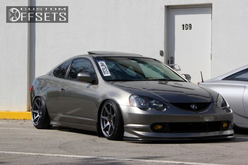 Rsx Acura Type S Dr Hatchback L Cyl M Dropped Mb Battles Black Gunmetal Flush