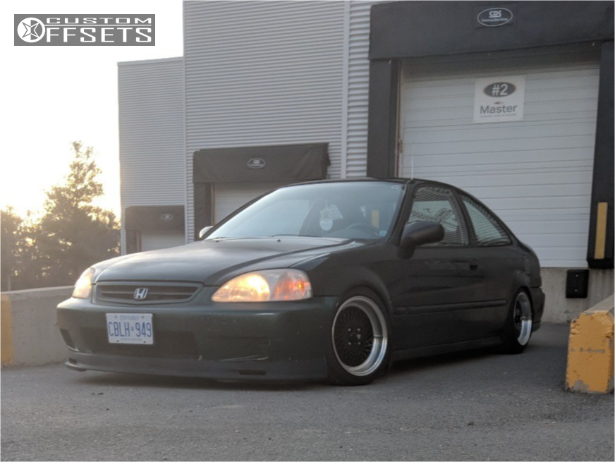 2000 Honda Civic Enkei Enkei92 Yonaka Motorsports Coilovers