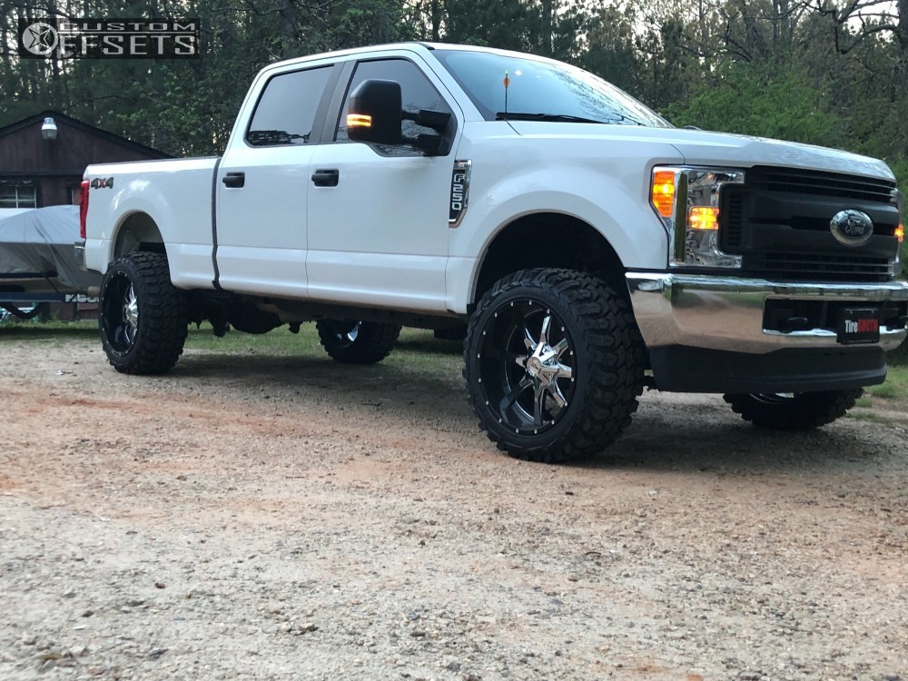 Ford Racing Parts >> 2017 Ford F 250 Moto Metal Mo201 Ford Racing Performance Parts