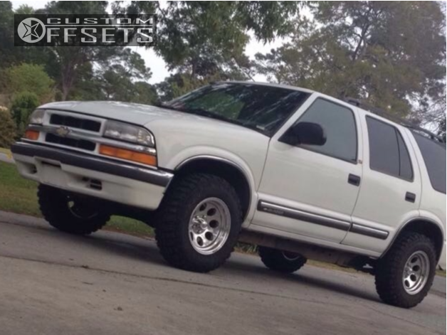 1 2001 Blazer Chevrolet Stock Stock Alloy Ion Style 171 Polished