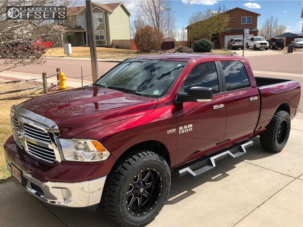 2017 Ram 1500 Fuel Maverick Bilstein Leveling Kit Offsets Garage