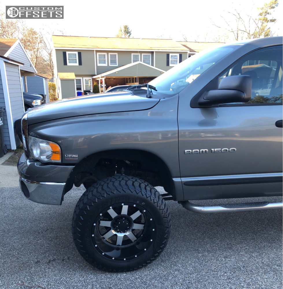 Rough Country 4wd Dodge Ram 2500 3500 Mega Cab 5 Lift: 2005 Dodge Ram 1500 Gear Alloy 726m Rough Country