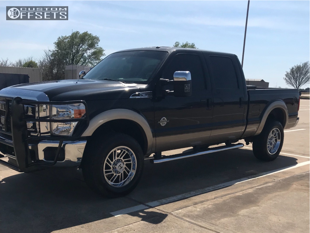 1 2012 F 350 Super Duty Ford Stock Stock Hostile Stryker Chrome