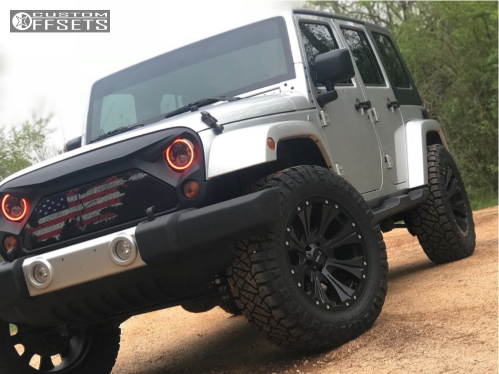 2010 Jeep Wrangler Helo He901 Rough Country Suspension