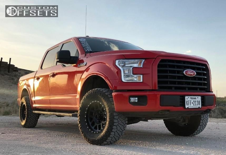 1 2017 F 150 Ford Rugged Offroad Leveling Kit Method Mesh Matte Black
