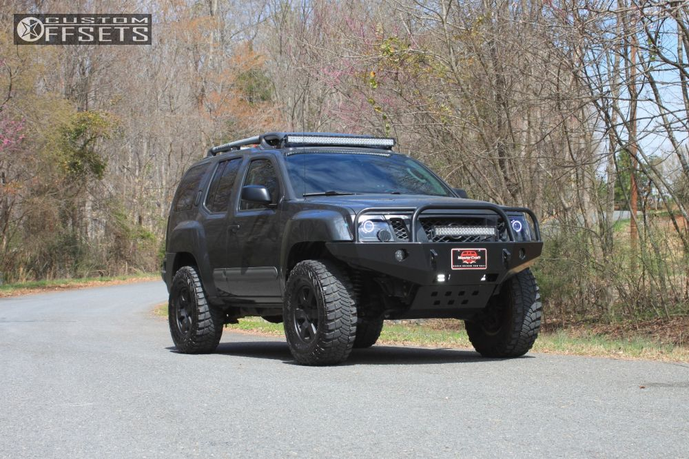 2011 Nissan Xterra Nissan Pro 4x Nisstec Suspension Lift 3in Custom