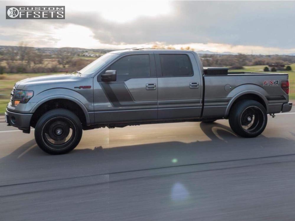 Ford Rough Country Leveling Kit Hostile Sprocket Black