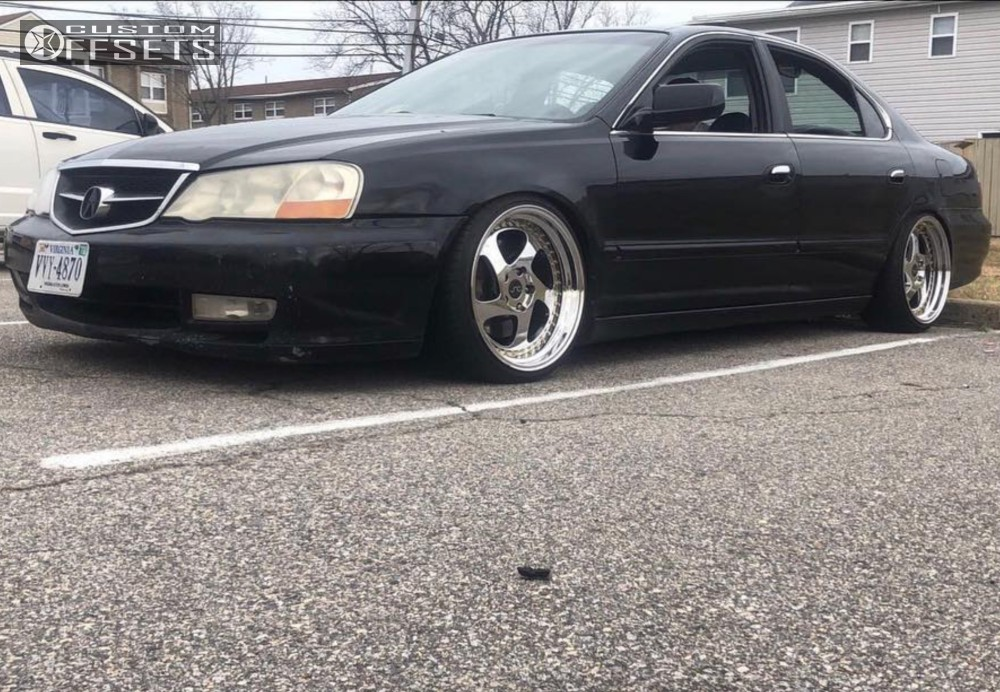 2002 Acura Tl Jnc Jnc034 Function And Form Coilovers Custom Offsets