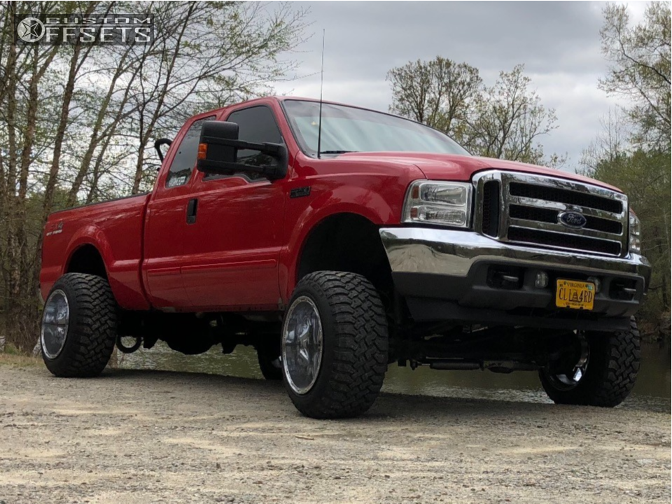 1 2003 F 250 Super Duty Ford Fabtech Suspension Lift 6in Fuel Hostage D531 Chrome