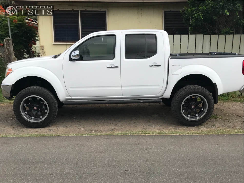 2005 Nissan Frontier Ballistic Beast Rough Country Suspension Lift