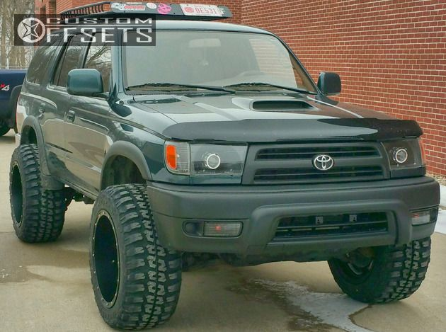 1 1997 4runner Toyota Suspension Lift 3 Fuel Hostage Black Super Aggressive  3 5 ...