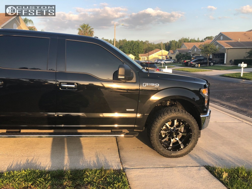 Ford Rough Country Leveling Kit Moto Metal Mo Machined Black