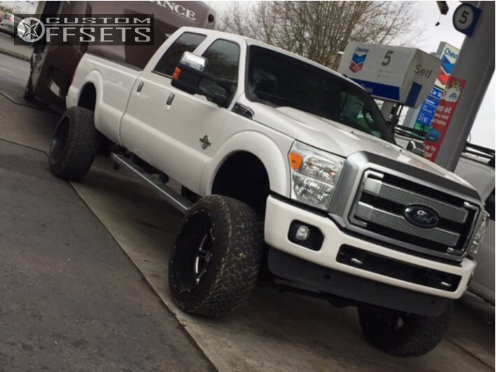 1 2014 F 350 Super Duty Ford Bds Suspension Lift 8in Hostile Exile Machined Accents