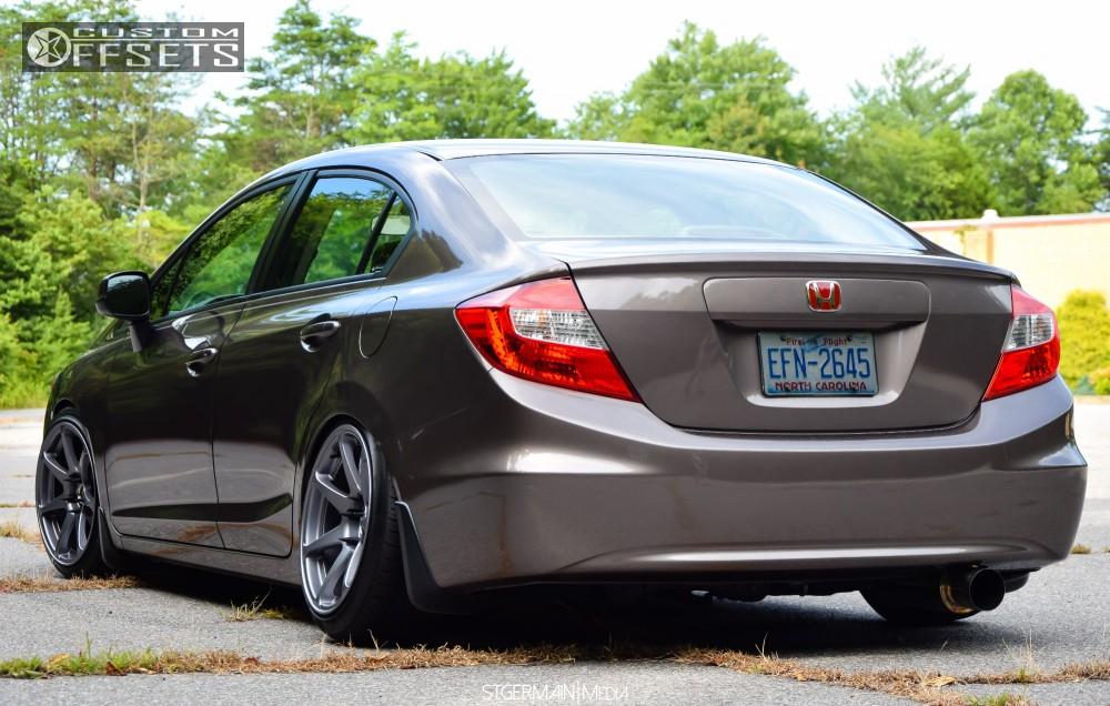 2012 Honda Civic Mb Wheels Battle Raceland Coilovers