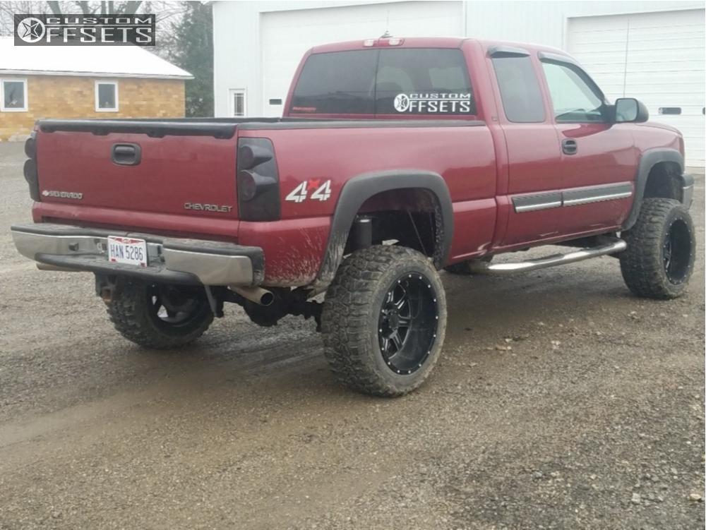 chevrolet silverado  gear alloy big block rough country suspension lift
