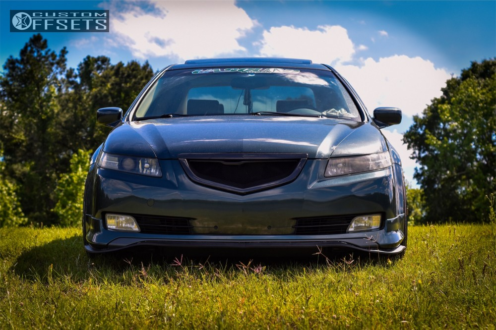 Acura Tl Cosmis Racing S Tein Coilovers Offsets Garage - 2004 acura tl coilovers