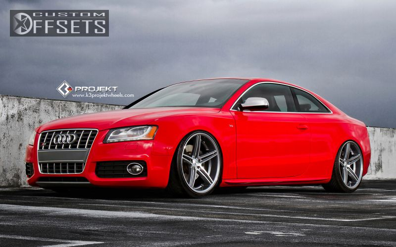 Audi S K Projekt F Lowered Adj Coil Overs - Audi s5 custom