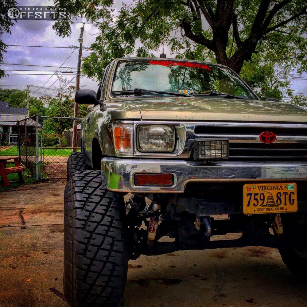 94 Toyota Pickup Truck: 1994 Toyota Pickup Mickey Thompson Classic Skyjacker