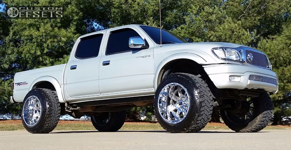 Wheel Offset 2001 Toyota Tacoma Hella Stance 5 Suspension