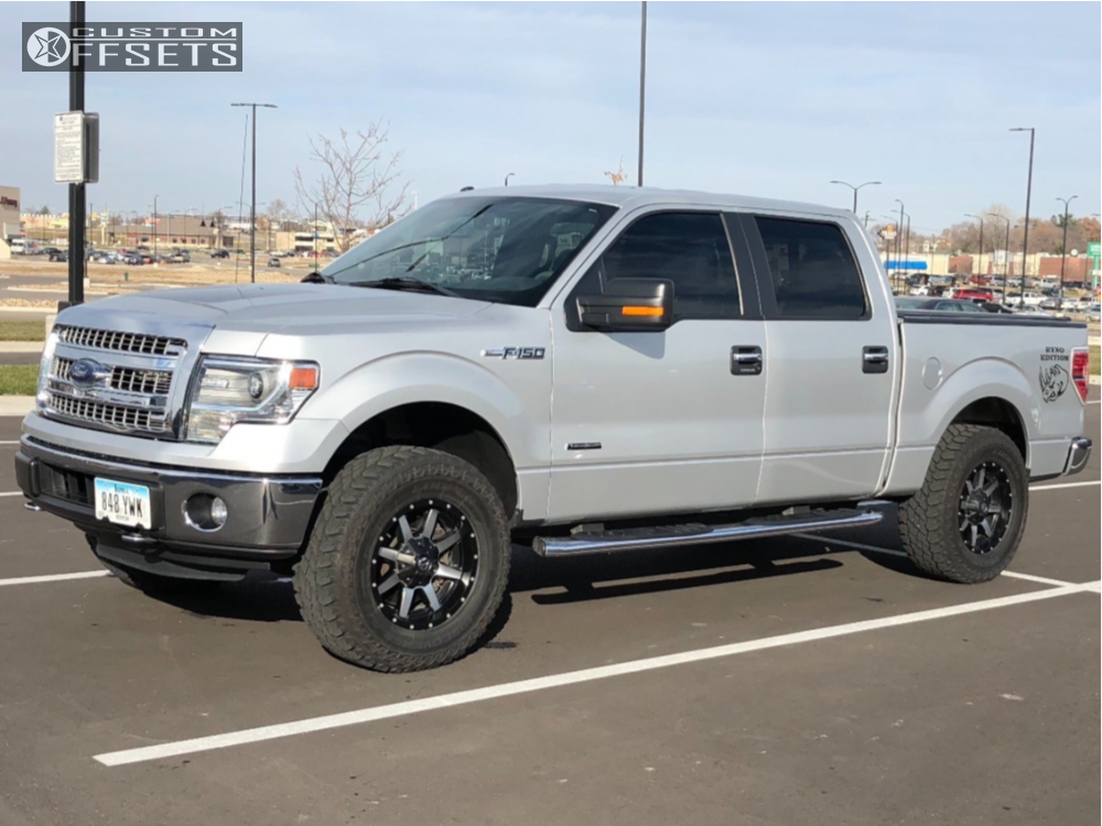2014 F150 Leveling Kit >> 2014 Ford F 150 Fuel Maverick Rough Country Leveling Kit