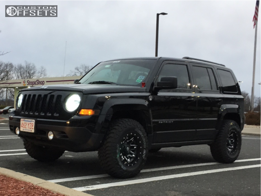 Lifted Jeep Patriot >> 2016 Jeep Patriot Fuel Lethal Rocky Road Outfitters