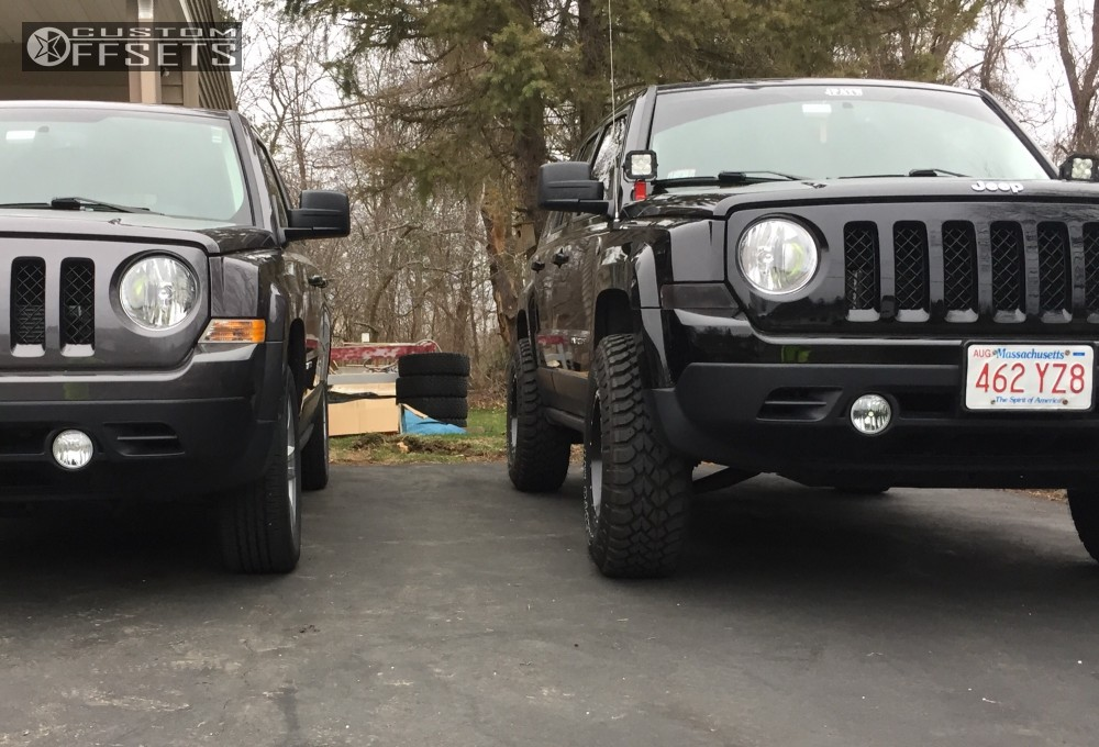 2016 Jeep Patriot Fuel Lethal Rocky Road Outfitters Suspension Lift