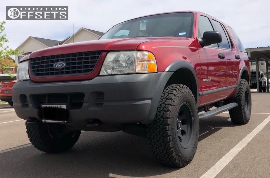 Ford Explorer Black Rims >> 2004 Ford Explorer Pro Comp Series 69 Traxda Suspension ...