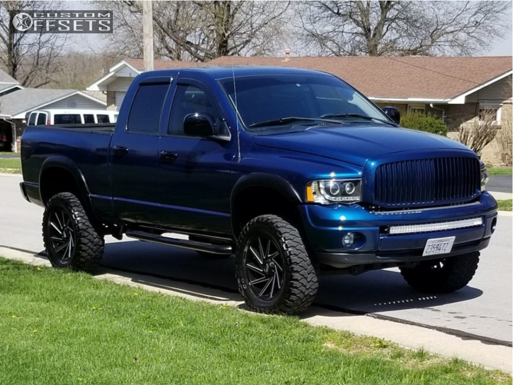 2003 dodge ram 1500 xd xd834 rough country suspension lift 6in. Black Bedroom Furniture Sets. Home Design Ideas