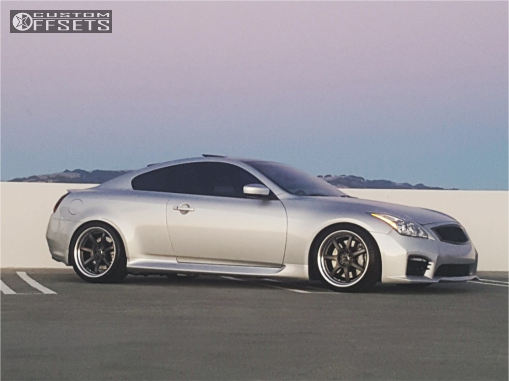 2008 infiniti g37 work emotion t7r2p tein coilovers. Black Bedroom Furniture Sets. Home Design Ideas