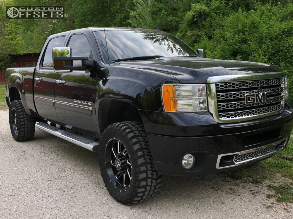 1 2011 Sierra 2500 Hd Gmc Stock Leveling Kit Hostile Stryker Machined Accents