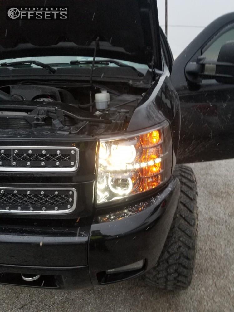 5 2013 Silverado 1500 Chevrolet Rxc Suspension Lift 75in Xd Grenade Black