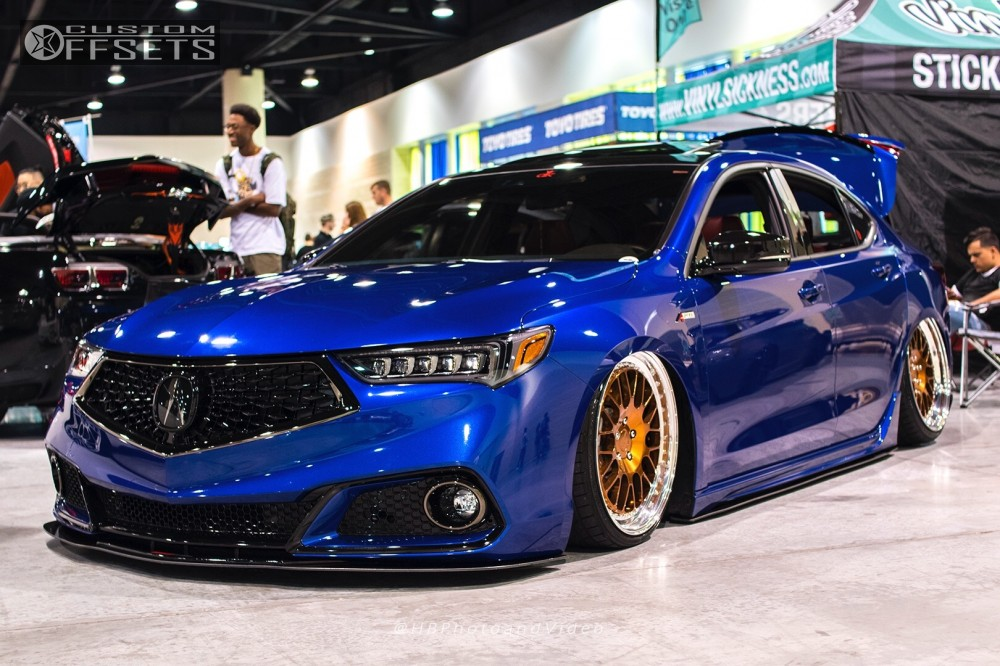 2018 Acura Tlx Rotiform Air Lift Performance Air Suspension