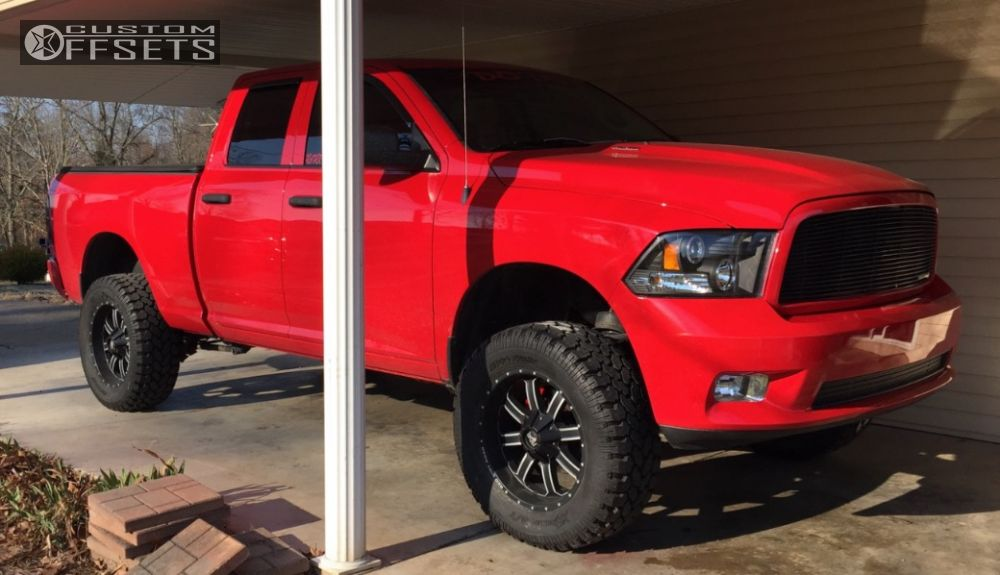 2012 Ram 1500 Red Dirt Road Rd01 Performance Accessories ...