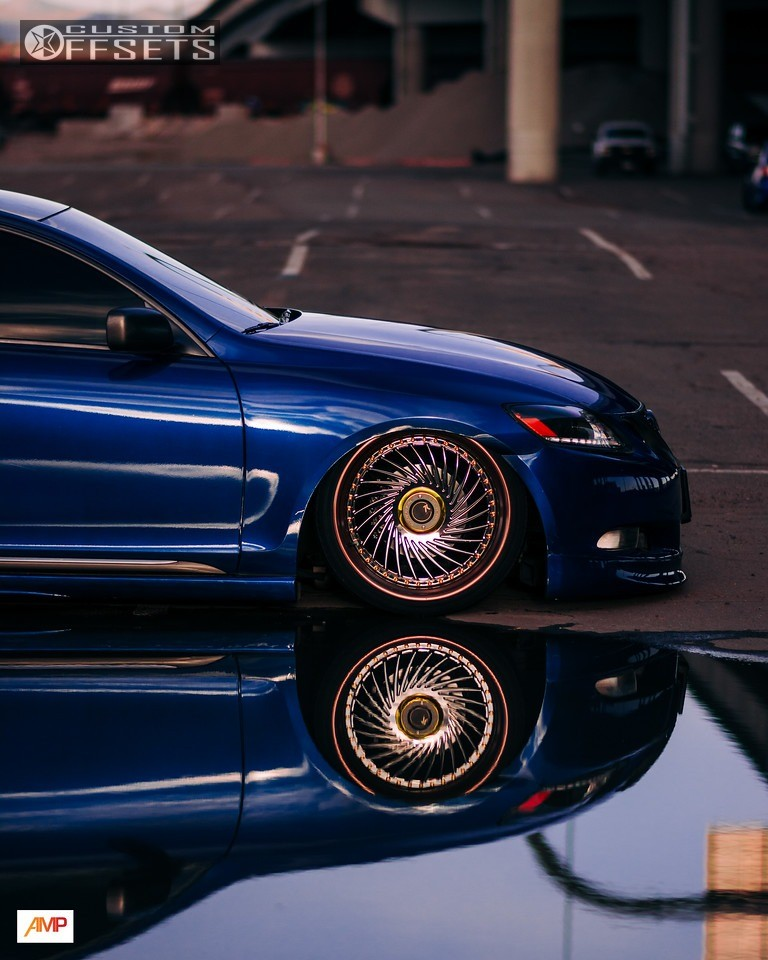 2007 Lexus Lx Suspension: 2007 Lexus Gs350 Sevenk Superfin 3pc Air Lift Performance