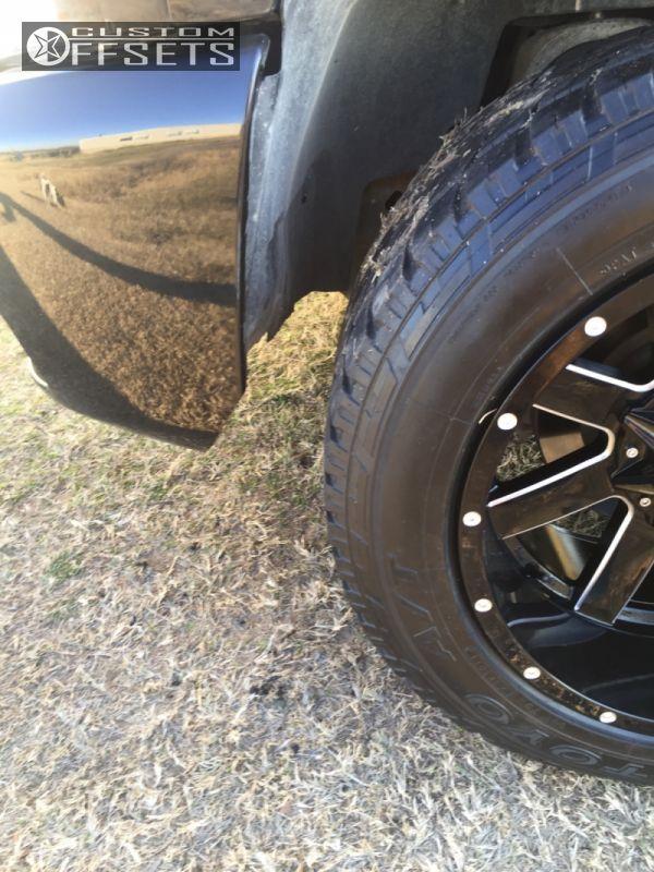5 2011 Silverado 1500 Chevrolet Stock Ballistic Rage Black Super Aggressive 3 5